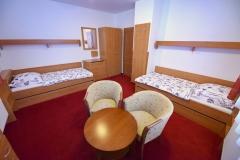 Apartmán A - ložnice 2+2