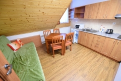 Apartmán C - kuchyňka
