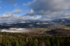 Panorama Jeseníků z Bukovky